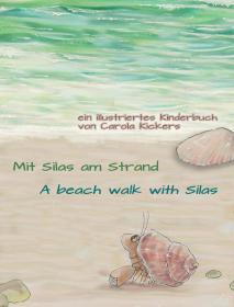 Mit Silas am Strand