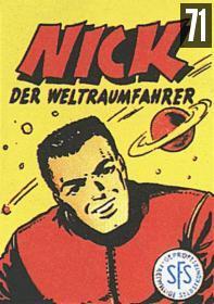 Band 071 - Nick setzt sein Leben ein